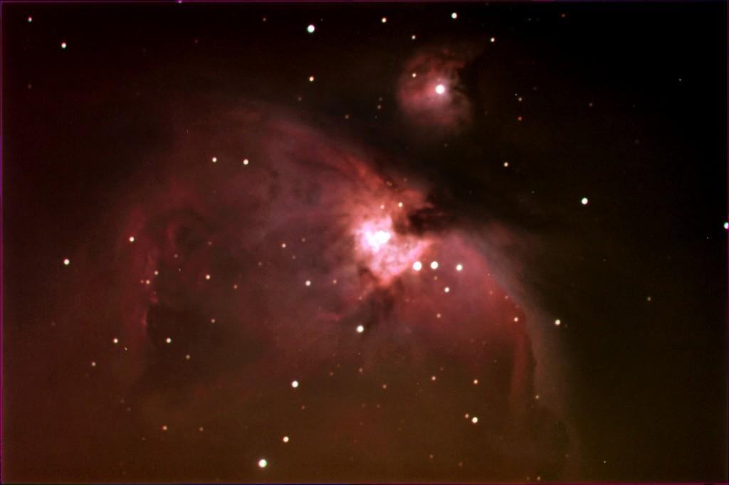 Mgławica M42 w Gwiazdozbiorze Oriona