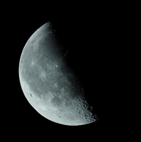 Księżyc w III kwadrze, 21.08.2011