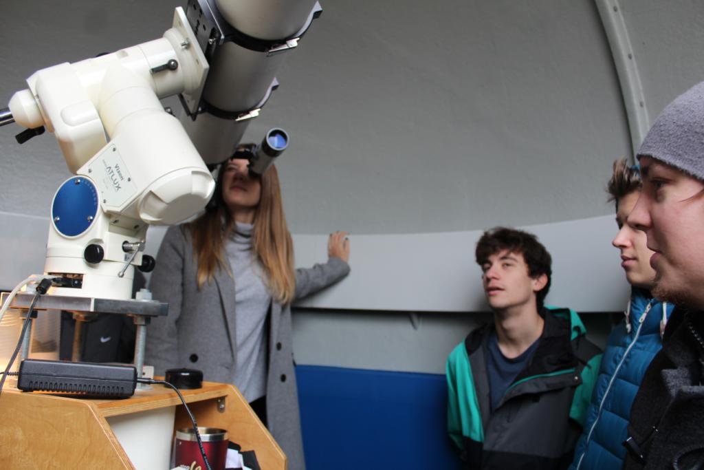 Geografia GLA w obserwatorium